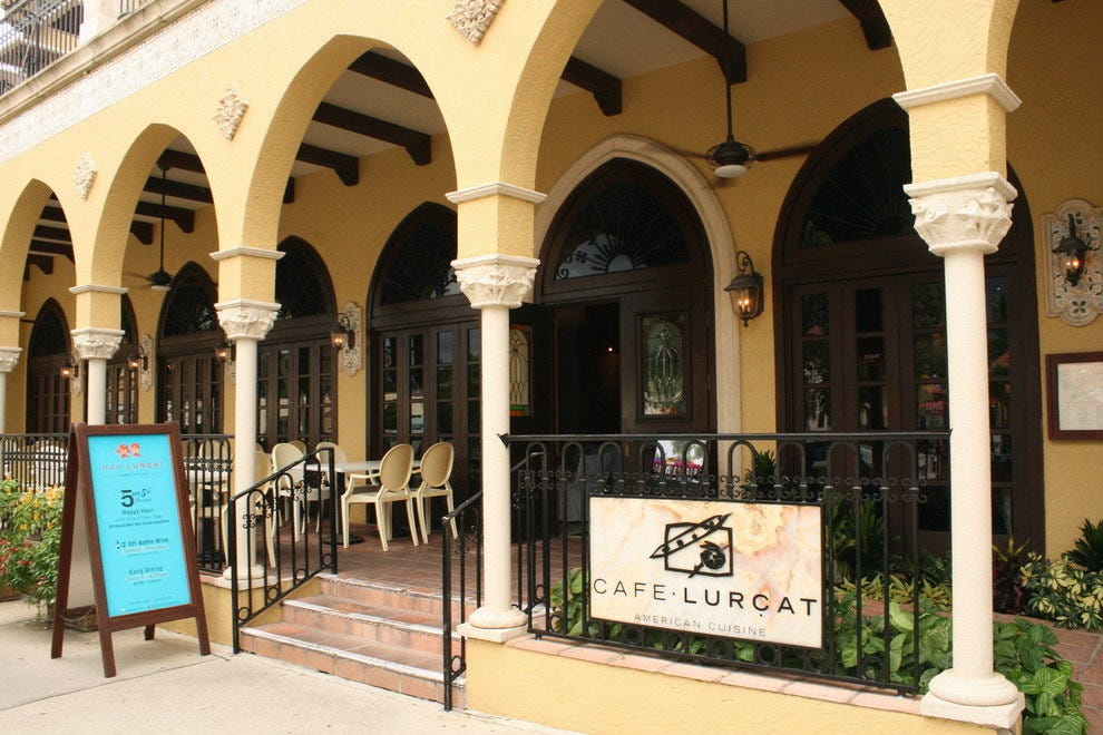Cafe Lurcat Restaurant Naples Florida