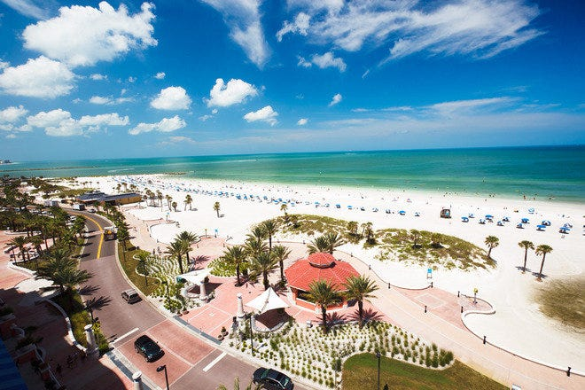 Top 10 World-Class Beaches Near Tampa Feature White Sand, Warm Water