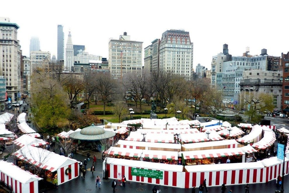 Union Square Holiday Markets
