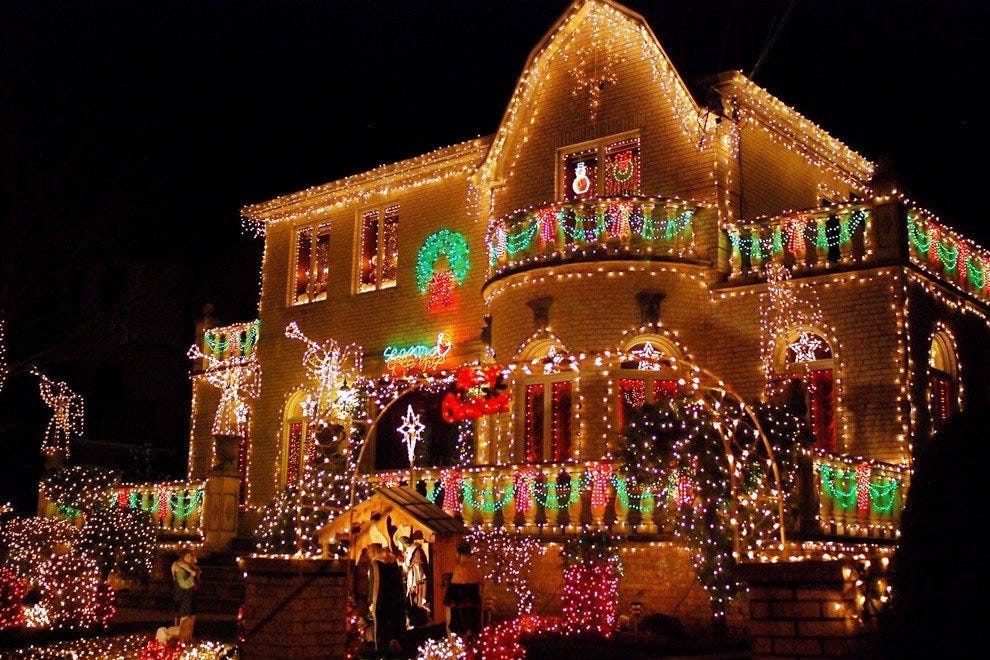 dyker heights light show new york attractions review 10best experts and tourist reviews new york radio city christmas spectacular new york times review ...