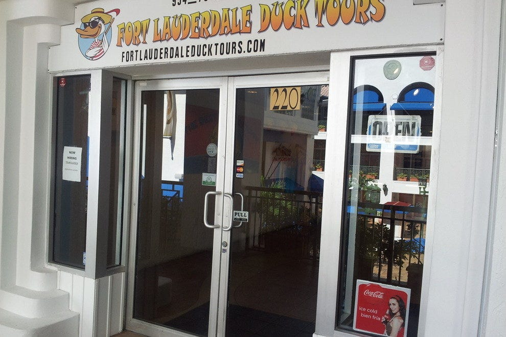 "The ""Quack Shack"" in Fort Lauderdale"
