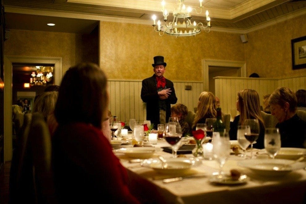 Annual Dickens Dinner