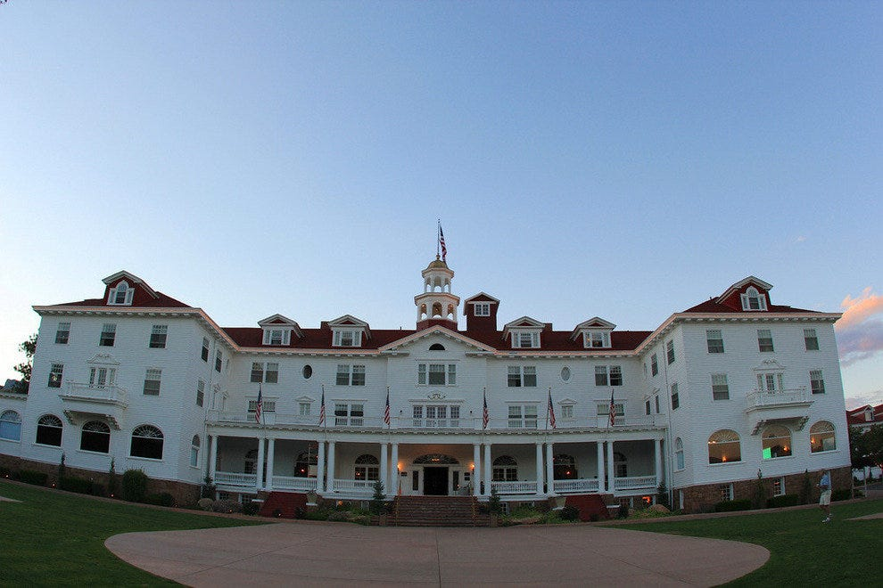 Would you spend the night at one of these haunted luxury hotels?