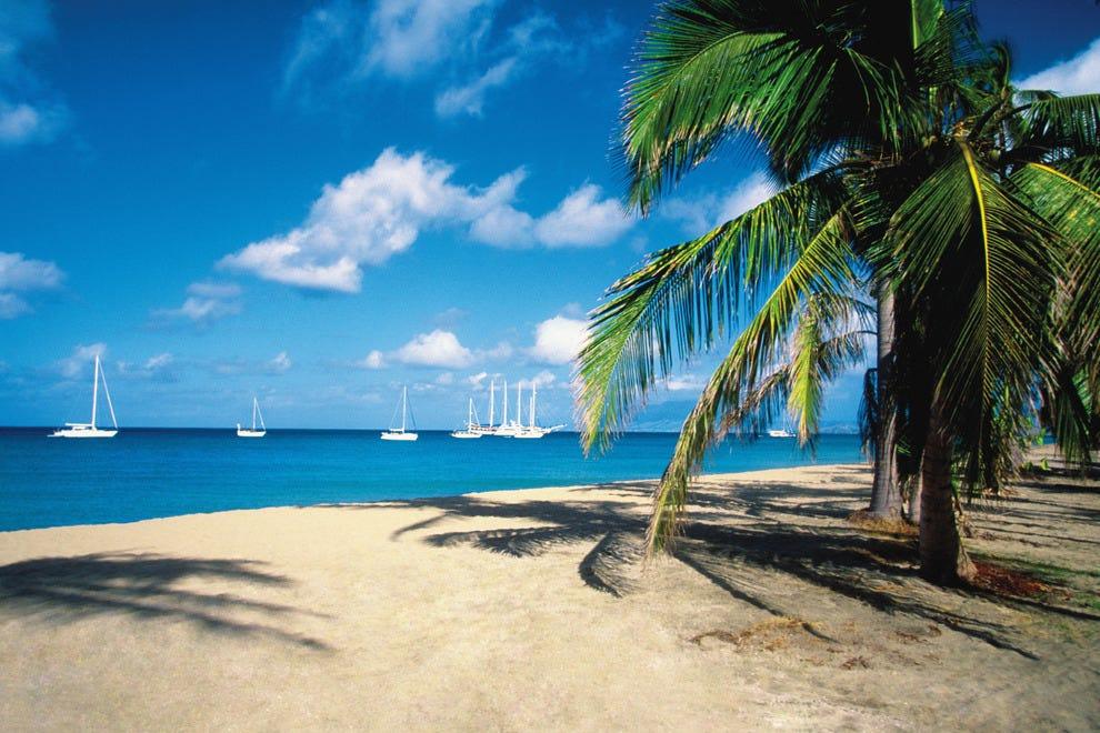 Best Romantic Caribbean Island Winners 2014 10best