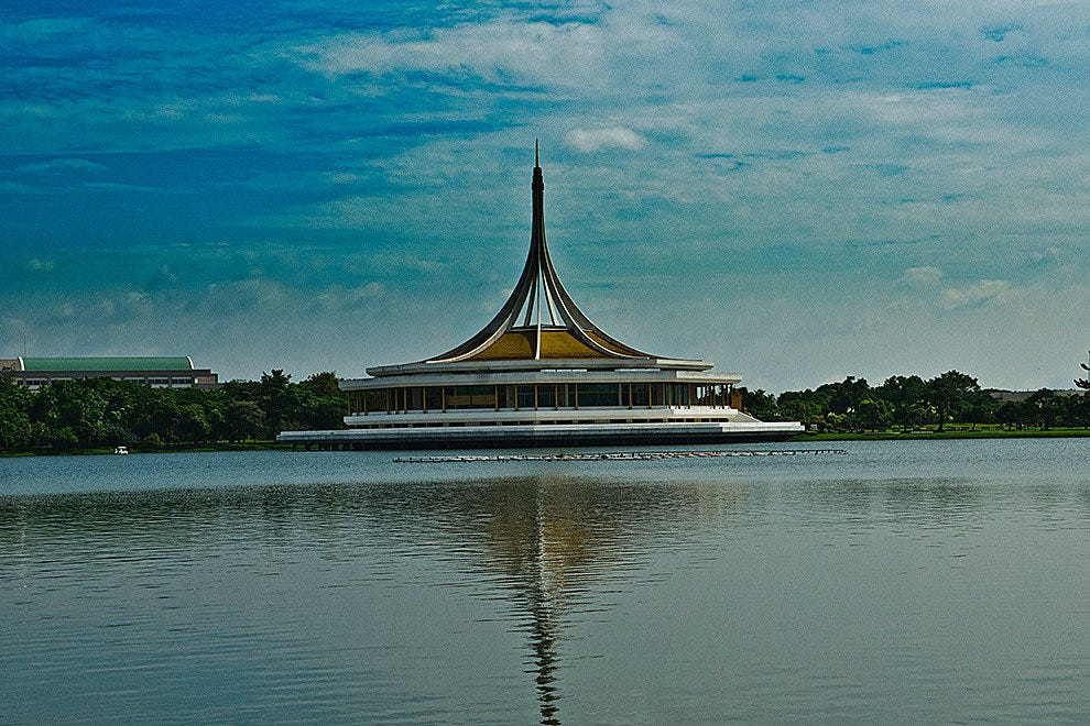 Pavilion at King Rama IX Park, Bangkok