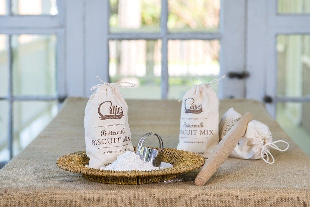 Callie's Hot Little Biscuit mix, available for purchase online or in-store!