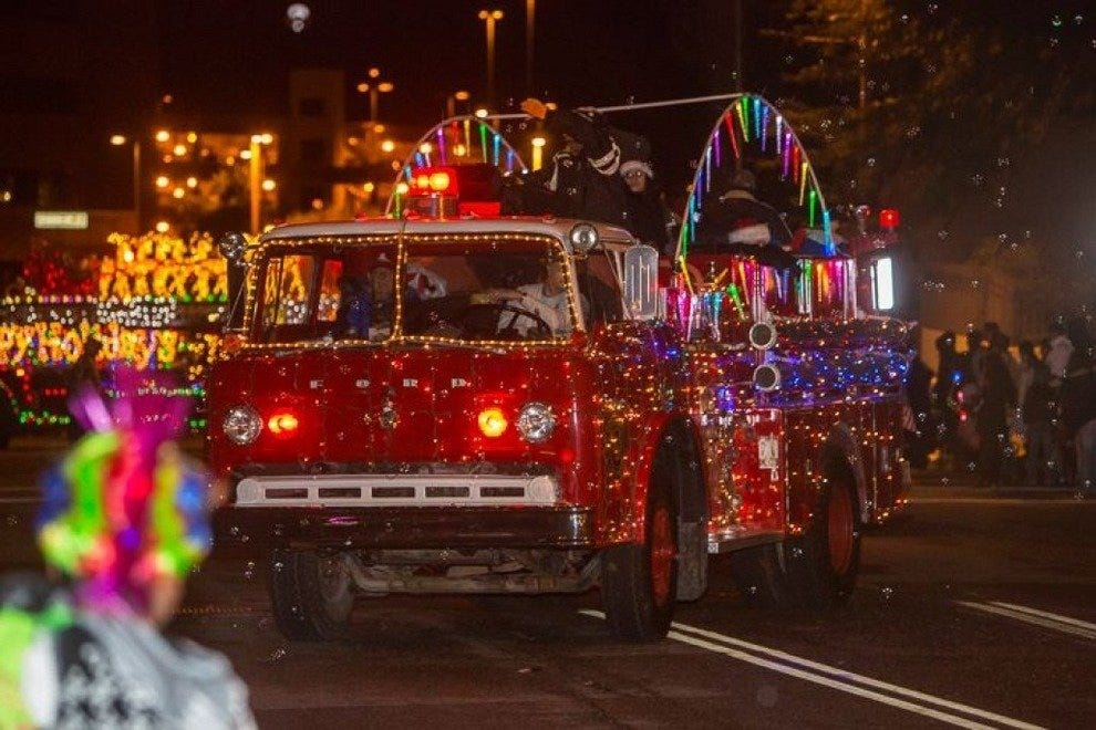 Annual Downtown Parade of Lights