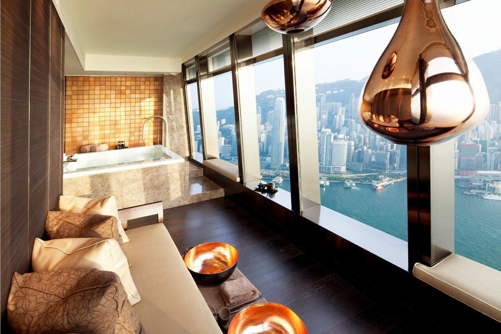 The ritz carlton spa by espa hong kong attractions review for Best hair salon hong kong