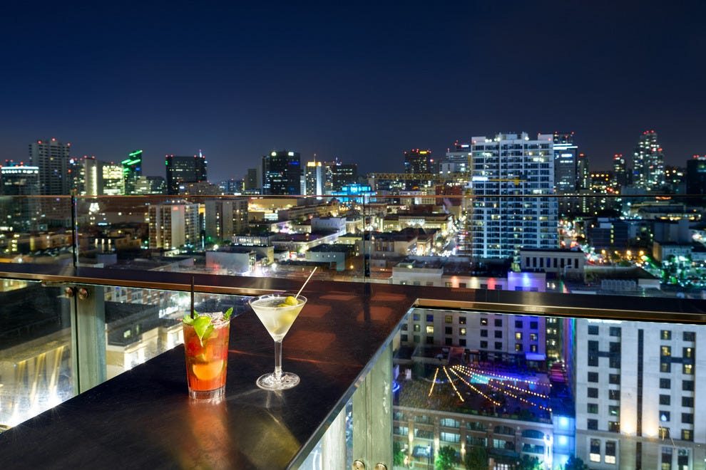 City Sights: Drink to One of San Diego's Best Views ...