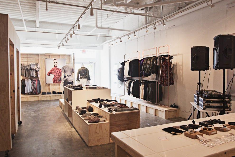 图案商店本地销售,国内外设计师时装