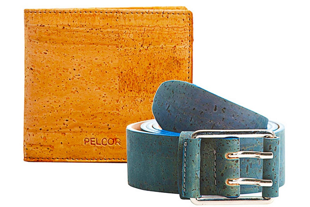 Genuine cork skin goods from Pelcor