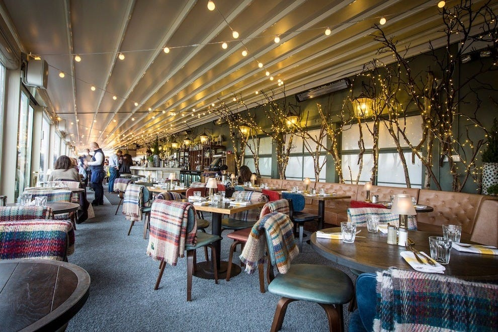Le Chalet At Selfridges A Rooftop Restaurant For The