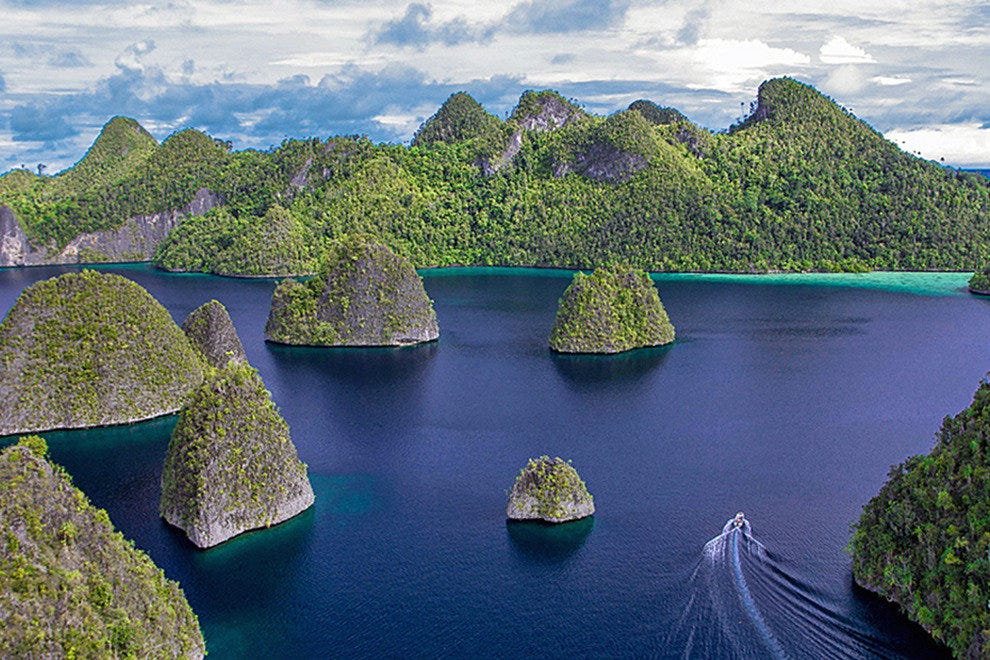 The islands of Indonesia, including Bali and Komodo, are most easily reached by cruise.