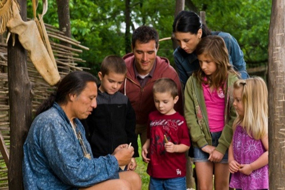 See a craft demonstration at the Cherokee Heritage Center