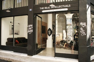 The Real Intellectuals: Shop Motorcycle Accessories, Streetwear in Athens