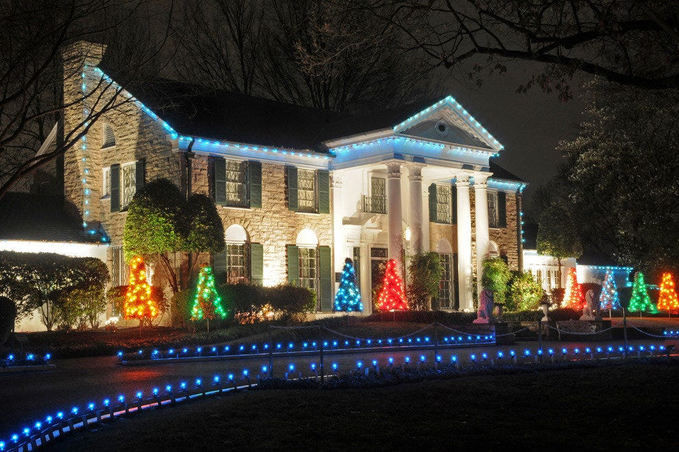 Christmas In Graceland 2.Things To Do In December Attractions In Memphis