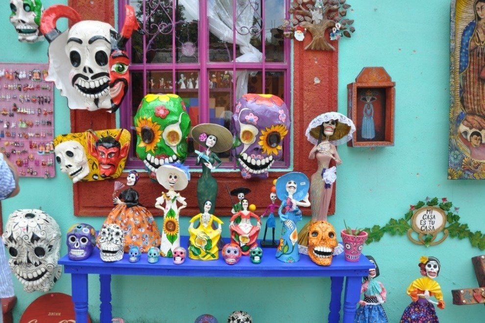 Purchase Colorful Mexican Handcrafts
