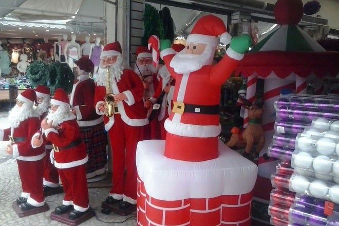 Christmas Shopping in Rio de Janeiro