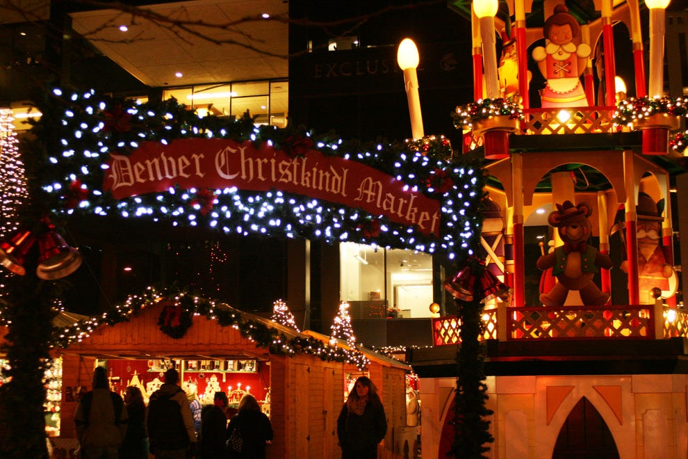 Denver Christkindl Market opens at Skyline Park along the 16th Street Mall