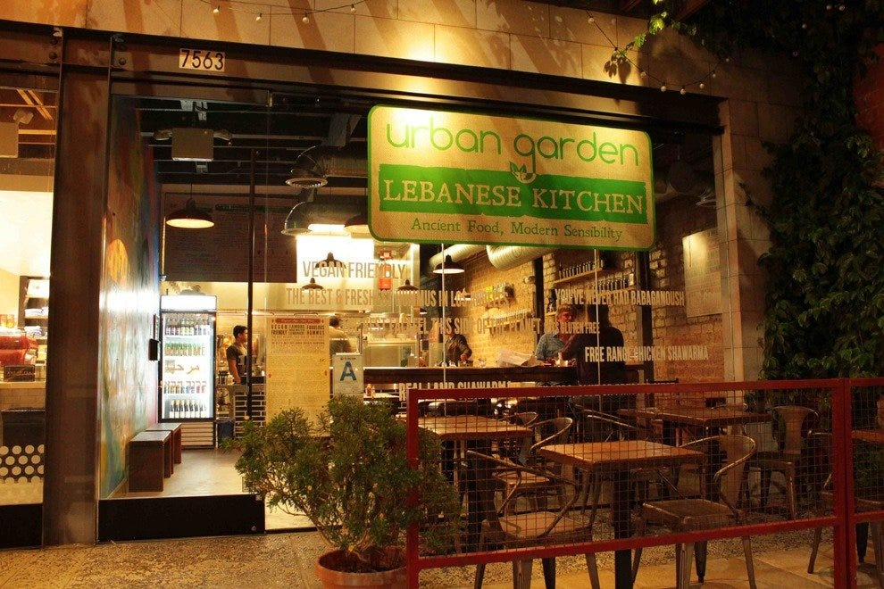 Urban Garden Lebanese Kitchen