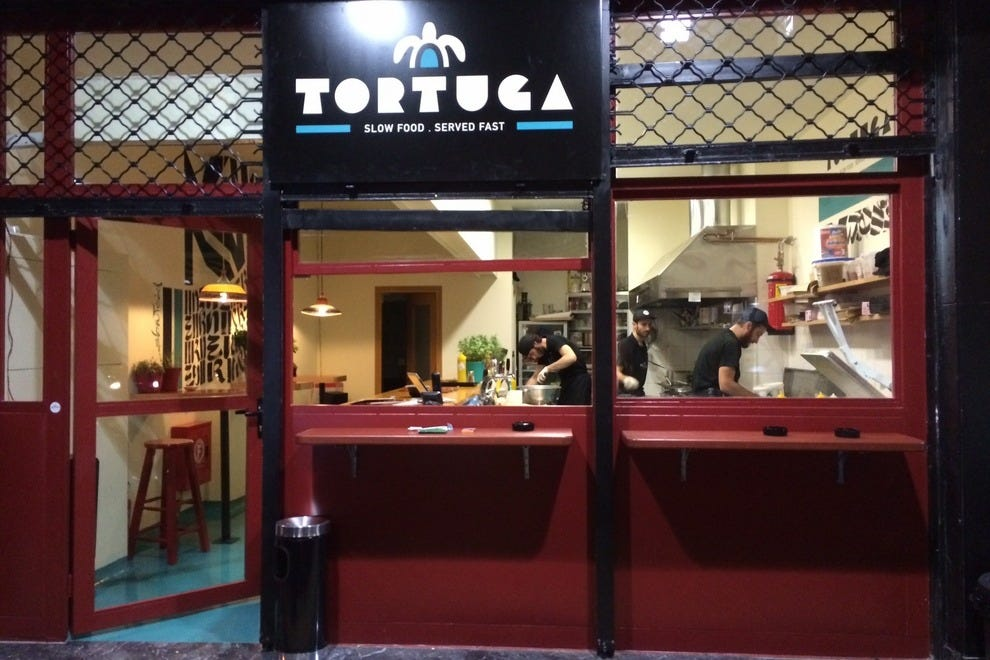 Entrance of Tortuga Food Bar