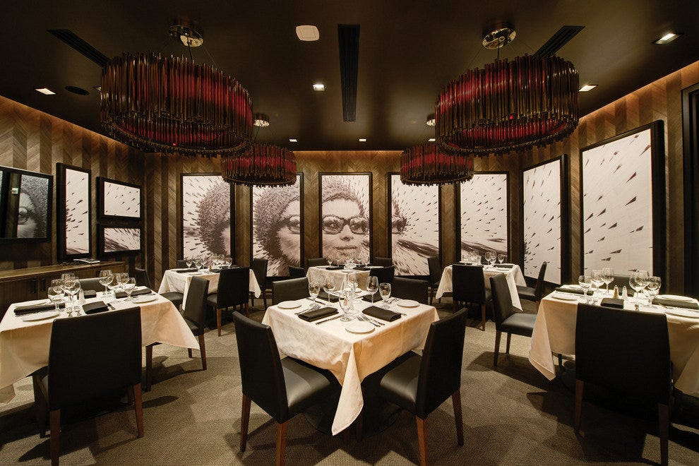Wilshire, one of the three private dining rooms