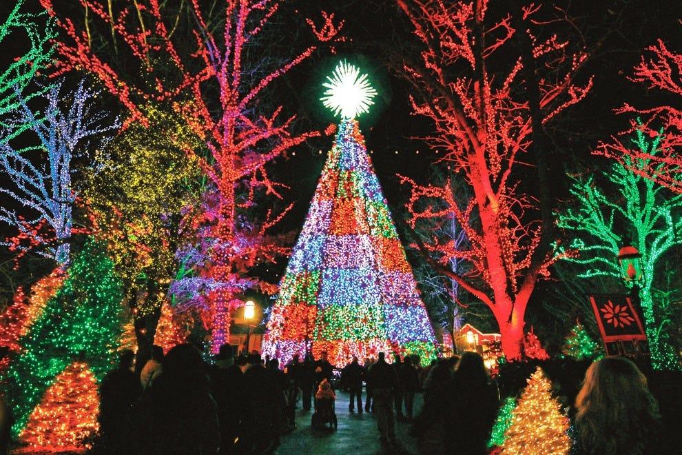 Best Public Lights Display Winners 2014 10best Readers