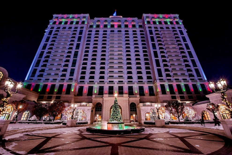 Christmas at the Grand America Hotel