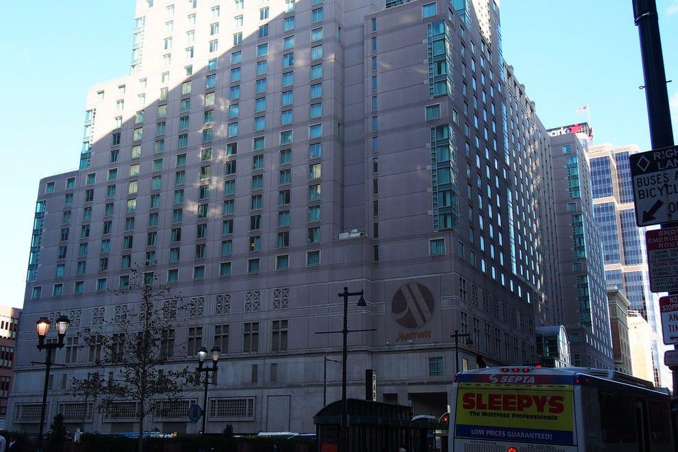 philadelphia marriott downtown philadelphia hotels review. Black Bedroom Furniture Sets. Home Design Ideas