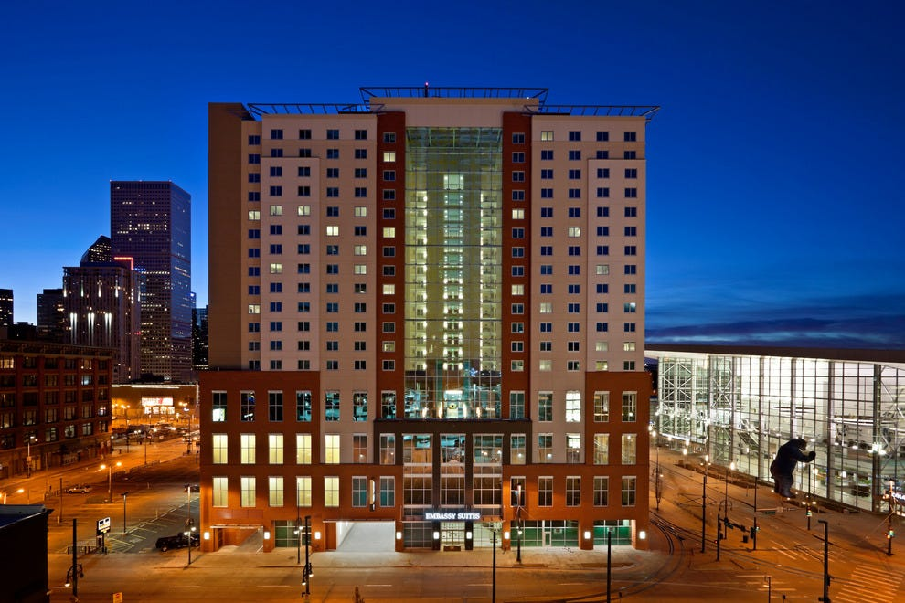 Emby Suites Denver Downtown Convention Center