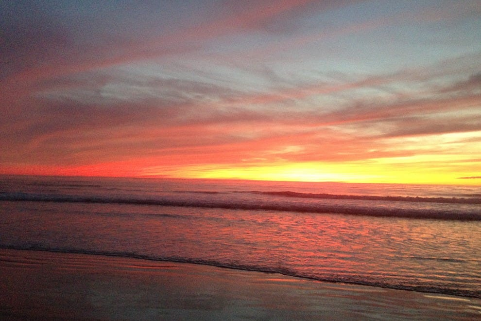 Go for a sunset stroll on the beach and do other romantic activities in southern California.