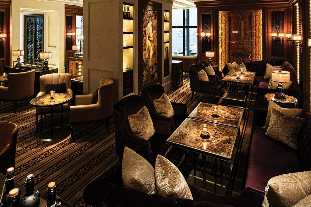 Caprice Bar serves wine, canapés and sheer class