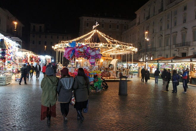 Christmas Shopping in Rome