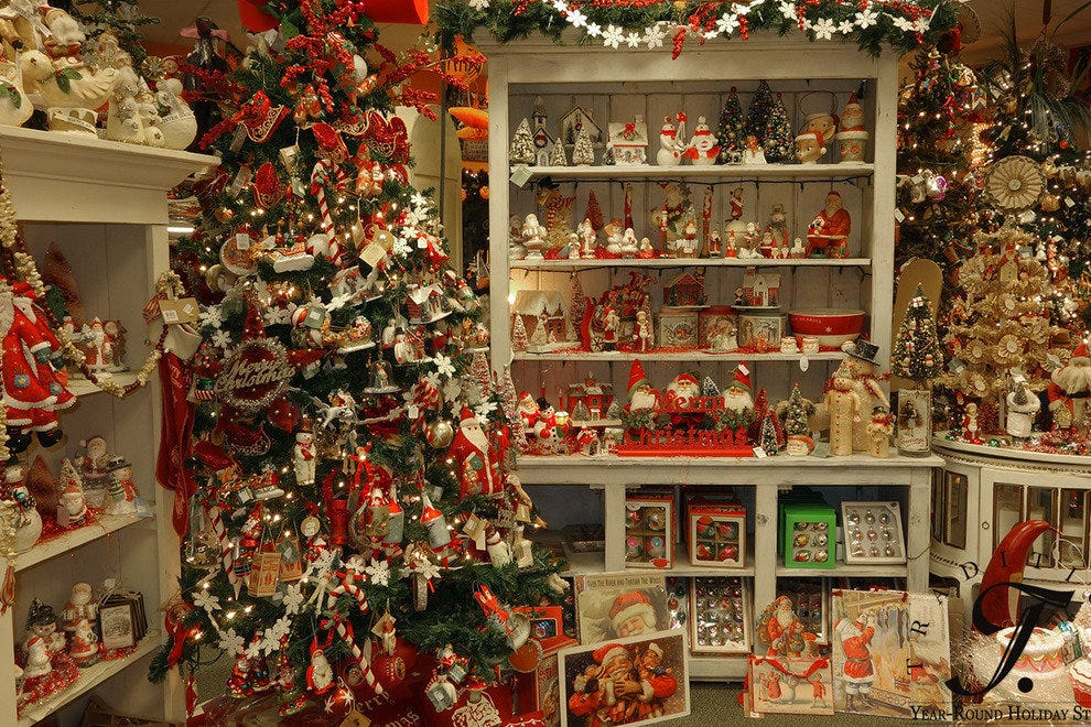 Traditions year round holiday store los angeles shopping for The christmas shop