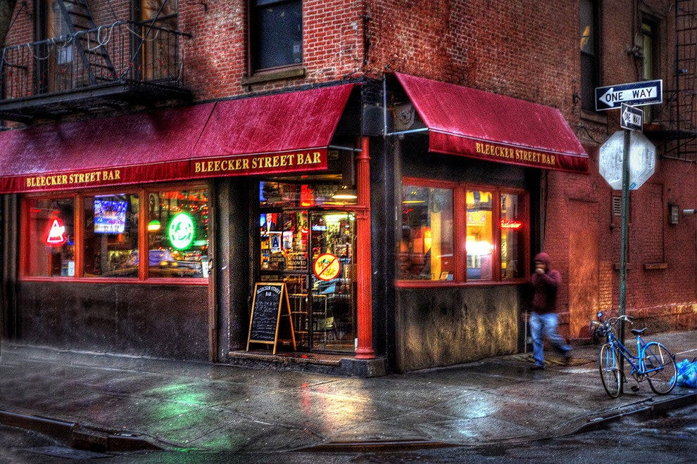 New york bars pubs 10best bar pub reviews for Best places to go in nyc at night