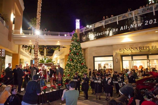圣地亚哥的圣诞购物