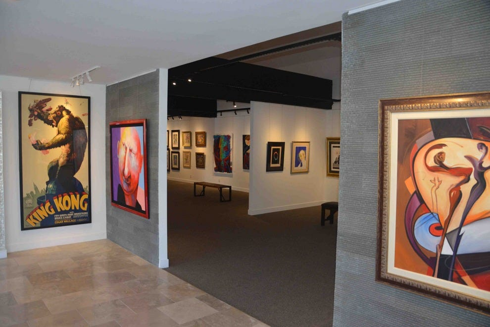 Qart.com Gallery boasts 7,500 square feet of fine-art offerings