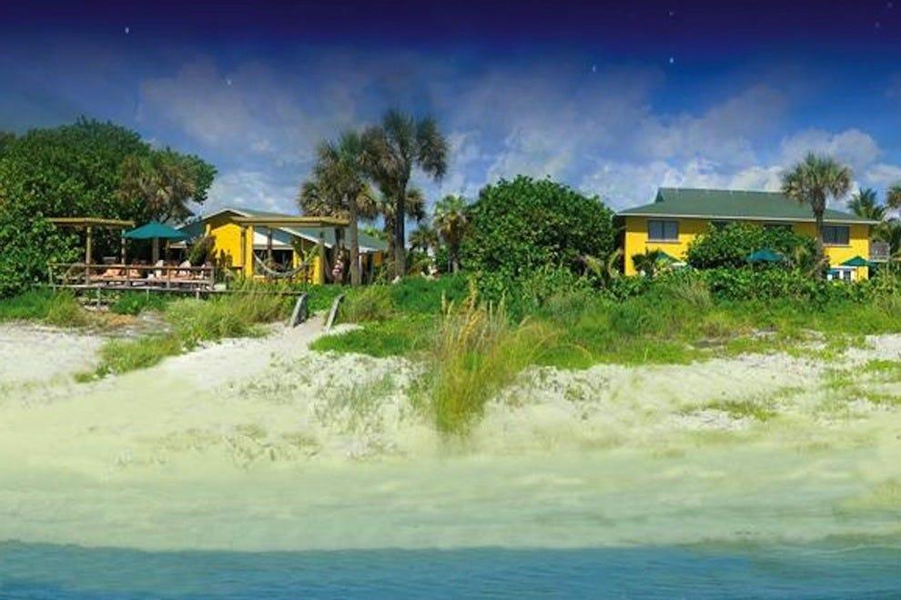 海滩的地方宾馆