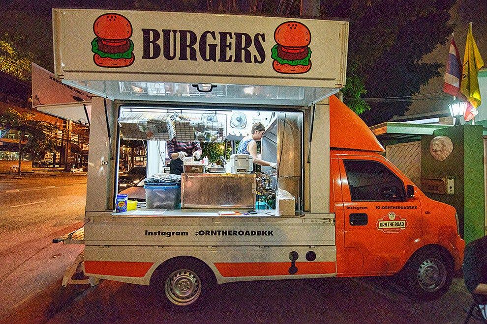 food trucks restaurants in bangkok. Black Bedroom Furniture Sets. Home Design Ideas