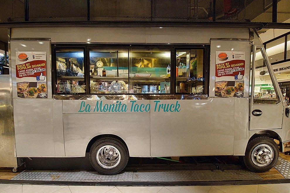 La Monita Taco卡车