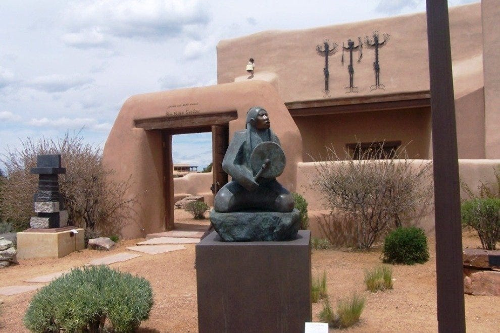 Museum of Indian Arts and Culture on Santa Fe's Museum Hill