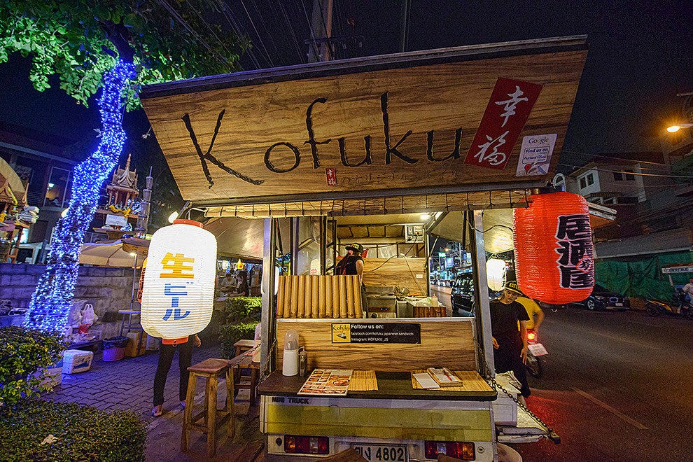 Japanese izakaya takes to the streets with Kofuku