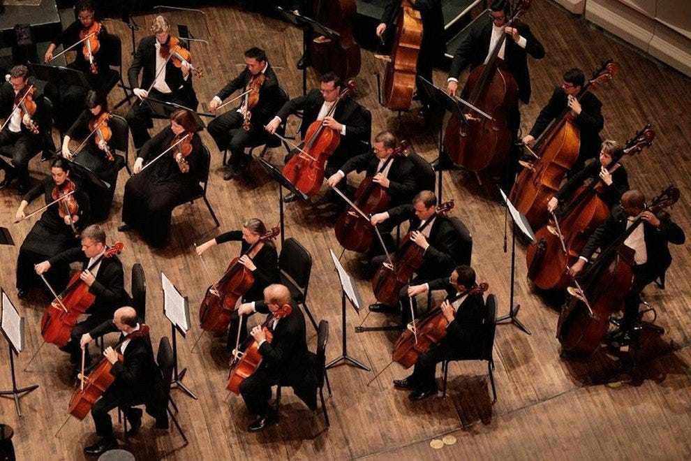 The Naples Philharmonic orchestra, just one of many performances you can expect at Artis–Naples