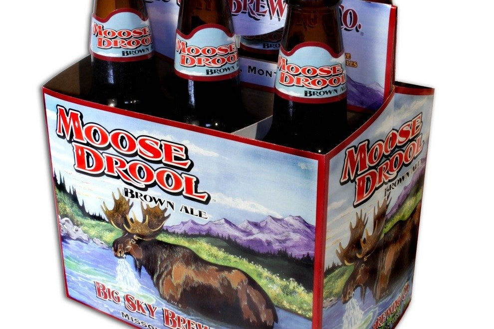 Big Sky Brewing's Moose Drool Brown Ale is popular among beer lovers around the country