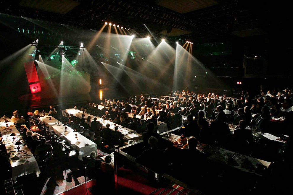 The magnificent Salão Preto e Prata, a huge function room furnished in black and silver décor