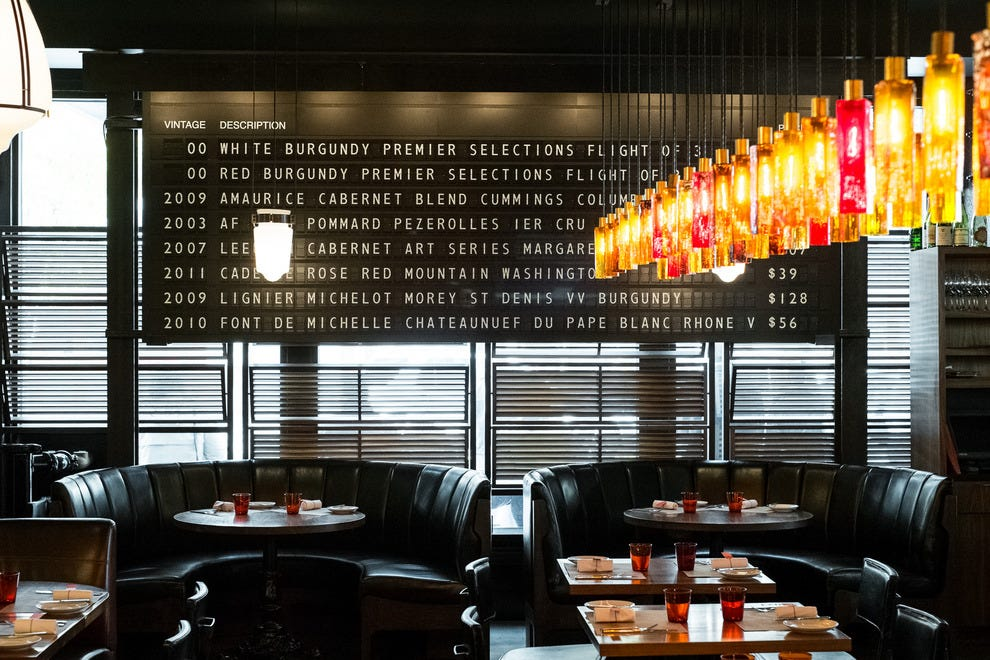 Locals and visitors alike enjoy the ambience, delicious dishes and extensive wine list at RN74
