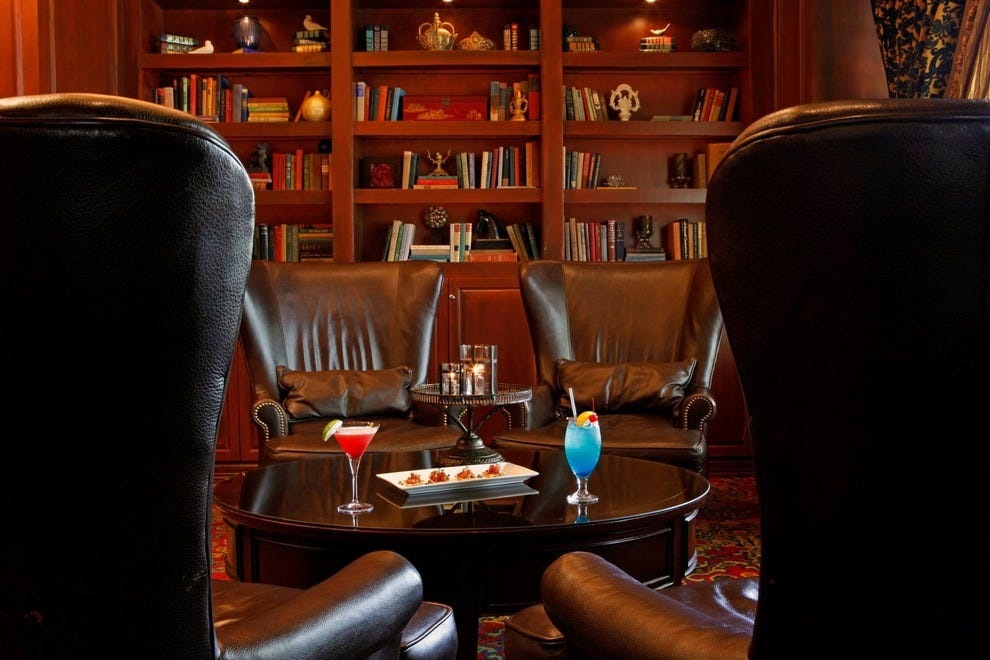 The Library Bar in Dallas: Relax with Martinis and Jazz ...