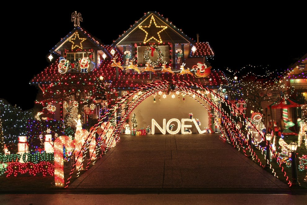 best private lights display winners 2014 10best readers choice travel awards
