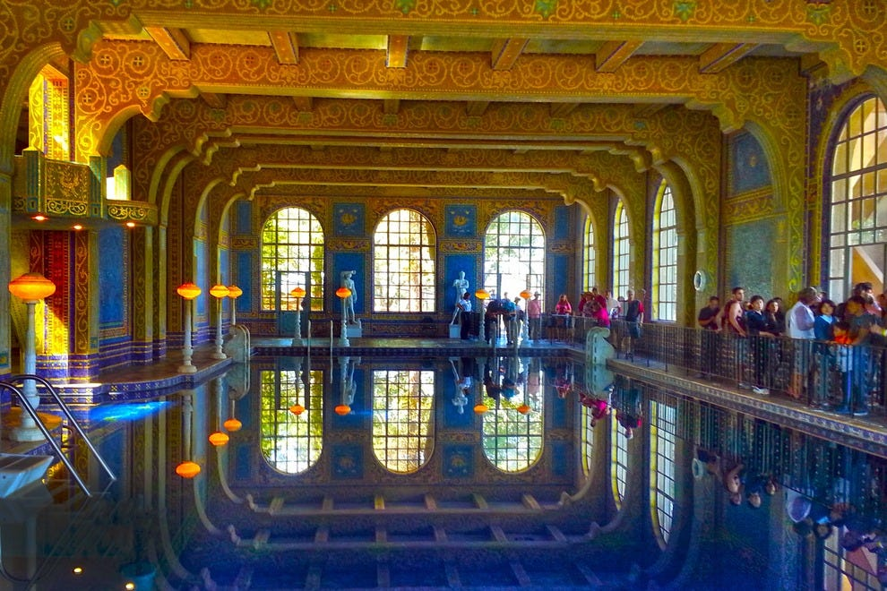 Hearst castle dining room
