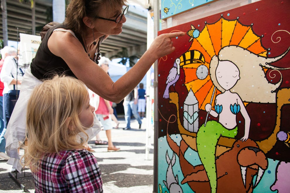 ArtFest features student exhibits and art activities for the kids